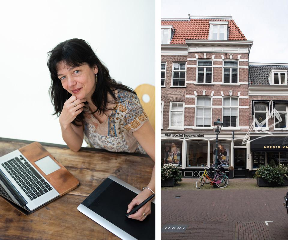Frederikstraat - kantoor van Martien Versteegh